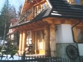 Atrakcyjna willa w Zakopanym do sprzedaży
